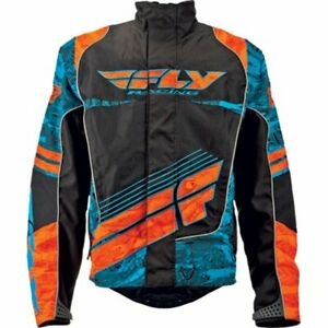 Fly Racing Men's SNX Wild Snow Jacket-Medium