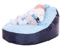 Baby Bean Bag In Blue Design - Including filling & New Design