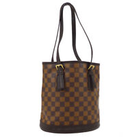 LOUIS VUITTON MARAIS SHOULDER TOTE BAG PURSE DAMIER EBENE N42240 AR0838 02246