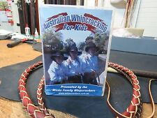 Australian Whipcracking for Kids DVD - whips stock bull cracking