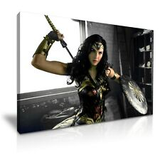 Wonder Woman Movie Gal Gadot Canvas Print Wall Art ~ 5 Size