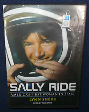 Sally Ride: America's First Woman in Space by Lynn Sherr MP3 2x CD Book