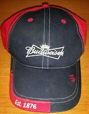 Ball Cap Hat from Estate Man Cave Collectible Budweiser Established 1876 Blue