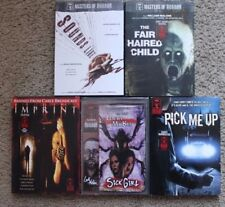 Masters of Horror LOT OF 5 Sounds Like, The Hair Haired Child, Imprint...