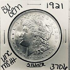 1921 BU GEM MORGAN SILVER DOLLAR UNC MS++ GENUINE U.S. MINT RARE COIN 3706