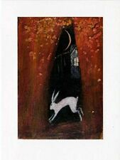 YULE WICCAN GREETING CARDS Twilight House PAGAN Wiccan HARE CATHERINE HYDE