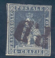 19/2.ITALY.TUSCANY,1851 # 7, 6 CRAZIE,LION
