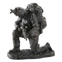 "6"" Praying Soldier Statue Military Army Marines Navy Sculpture Warfare"
