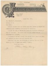 1917 Fire Association of Philadelphia Albany New York Agent Illustrated Letter