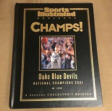Duke Blue Devils Sports Illustrated National Champions 2001 Collections Book