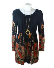 Unbranded Paisley 3/4 Sleeve Dresses for Women