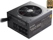 EVGA 210-GQ-0750-V1 GQ 80 Plus Gold 750W ECO Mode Semi Modular Power Supply