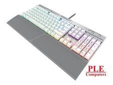 Corsair K70 RGB Mk2 SE Cherry MX Speed Mechanical Gaming Keyboard White Keycaps