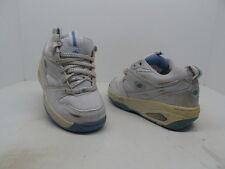 Heelys Girl's Shimmer Roller 7174 Skate Shoes White/Blue Size 4 Used w/ Defect!!