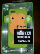 MONKEY NIB iPhone 5 Case - 100% Silicon - HYPE - Full Coverage Protection Green