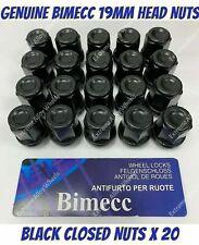 Black Wheel Nuts /& Locks 12x1.5 Bolts for Jaguar XJ 16+4 X351 09-16