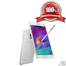 Samsung Galaxy Note 4 32GB White Unlocked Smartphone UK Ware ** C ** mit Garantie