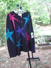 Susan Bristol Holiday Sweater 2W NWT  FREE S/H