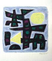 Alfred Manessier - Komposition (gerahmt)