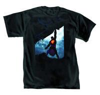 DC Comics Superman Power By Romita Jr Mens Black T-Shirt