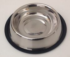Pet Food/Water Bowl/Dish-Cat/Dog-Anti-skid/Rubber/Stainless steel-16 Oz