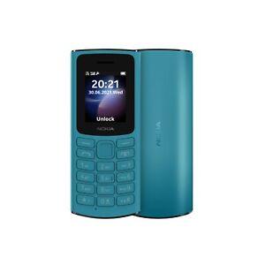 Nokia 105 4G FM Radio Torch HD Calls Unlocked Big Button Basic Mobile Phone