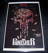 The Punisher 11X17 Netflix TV Poster Bullets