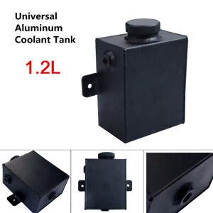 1.2L Universal Aluminum Radiator Expansion Coolant Overflow Tank Bottle With Cap