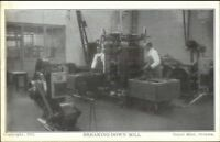 Ottawa Ontario Royal Mint Currency Mfg c1910 Postcard BREAKING DOWN MILL