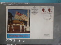 1979 NEW ZEALAND WAITANGI DAY MILITARY SOUVENIR COVER