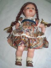 OLD beautiful,  DOLL celluloid SCHUTZ MARKE 33 F/33 GERMANY 1900