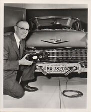 1958 GM 'Auto Steering System' Period Press Photograph - '58 Chevrolet