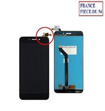 """ECRAN LCD COMPLET + VITRE TACTILE NOIR HONOR 6C PRO (nappe sur le coté) (#A123"""")"""