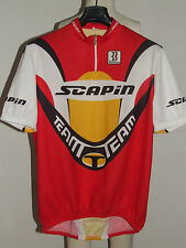 MAGLIA BICI CICLISMO SHIRT MAILLOT CYCLISM SPORT TEAM SCAPIN BIEMME tg. 3XL