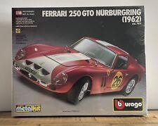 Bburago Model - Ferrari 250 GTO Nurburgring (1962) Cod 7011 - Metal Kit - Sealed