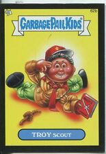 Garbage Pail Kids Mini Cards 2013 Black Parallel Base Card 62b TROY Scout