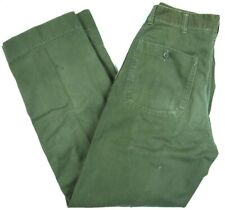VINTAGE WW2 40s military P41 HBT PANTS named field trousers USMC ARMY 31x32