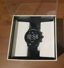Fossil The Carlyle HR 5. Generation Herren Smartwatch 44mm Edelstahlgehäuse...