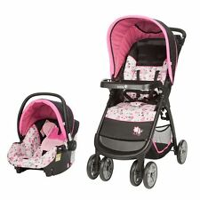 NEW Disney Minnie Mouse Infant Baby Stroller Car Seat Travel System