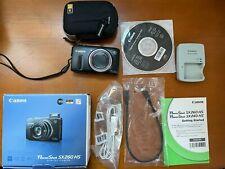 Canon PowerShot SX260 HS 12.1MP Digital Camera w/ case