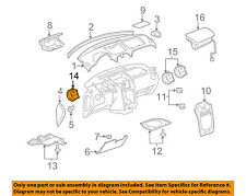 Chevrolet GM OEM 06-11 HHR Dash AC A/C-Heater Air Vent Right 20933885