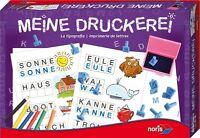 Spiel für Kinder Meine Druckerei  49106 Spiele von Noris NEU/OVP