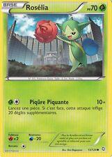Roselia -Noir & Blanc- Dragons Exaltés - 13/124 -Carte Pokemon Française Neuve