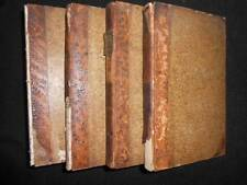 Voyage aux Indes Orientales et Chine Par M Sonnerat 1806 (India/China) 4 Vol Set
