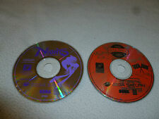 SEGA SATURN VIDEO GAME LOT OF 2 NIGHTS INTO DREAMS RALLY CHAMPIONSHIP DISC ONLY