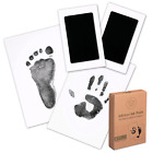 Baby Footprint & Handprint Inkless Ink Pad - 2-Pack Clean Touch Hand and Foot Pr