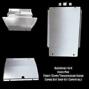 BushSkinz - Isuzu MU-X Front, Sump & Transmission Guard (Diff Drop Compatible) B
