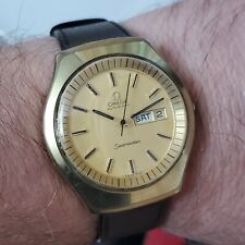 Men's Vintage Wristwatch Omega Seamaster Jumbo 40mm Day and Date