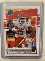 🔥 Clyde Edwards Helaire 🔥 2020 Donruss Rated Rookie #321 KC Chiefs 🔥