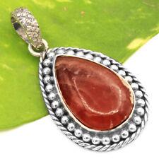 Rhodochrosite-Argentina 925 Sterling Silver Handmade Pendant Jewelry